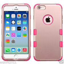 Rose Gold/Pink Multi-Layer Shockproof Case Hybrid Cover for iPhone 6 / 6s