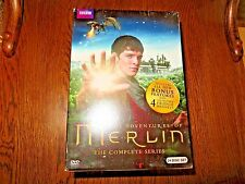Merlin: The Complete Series (DVD, 2014, 24-Disc Set) NEW - FREE SHIPPING