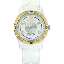 Neues AngebotHugo BOSS Orange Unisex weiße Kunststoff Armbanduhr 1512529