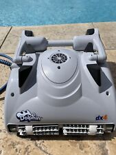 Dolphin Dx4 Deluxe Class Robotic Pool Cleaner with Remote Control - Pre-owned