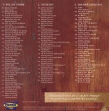 Muddy Waters - Steppin' Stone (2009)  3CD+DVD Box Set  NEW/SEALED  SPEEDYPOST