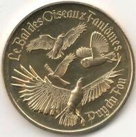 Monnaie de Paris - PUY-DU-FOU - BAL OISEAUX FANTOMES - CHOUETTE EFFRAIE 2020