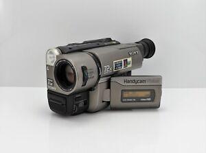 SONY HANDYCAM CCD-TRV46E CAMCORDER HI-8 VIDEO-8 VIDEO CAMERA ANALOGUE 8MM