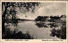 Zechlinerhütte Mark Region Rheinsberg Brandenburg ~1940 Partie am Schlaborn-See