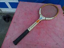 raquette de tennis vintage Dunlop Pioneer en bois wooden