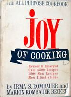 JOY OF COOKING - IRMA S. ROMBAUER and MARION ROMBAUER BECKER