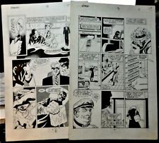 MARVEL'S NOMAD # 3 PAGES 7 & 11 1991 ORIGINAL ART BY JAMES FRY III-MINI-SERIES