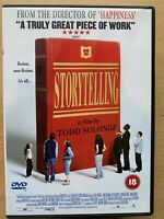 Storytelling DVD 2001 Todd Solonz Cult Movie w/ Selma Blair and Conan O'Brien