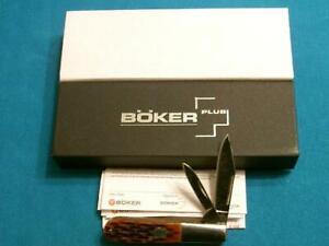 NM BOKER PLUS TREE BRAND 493 BONE BAREHEAD BARLOW JACK KNIFE POCKET KNIVES TOOLS
