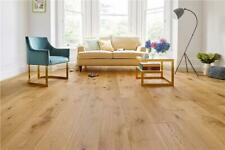 Engineered Oak Wood Natural Brushed Oiled Flooring  - 15mm x 4mm x 240mm
