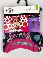 Cuddl Duds Girls Minnie Mouse Long Sleeve Crew Leggings Long Underwear NWT 4T