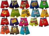 3x Mens Boys Xplicit Designer Novelty Rude Boxer Trunks Shorts Underwear Funny