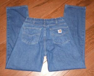 Carhartt FR 2112 Cat2 Men's 32x34 Relaxed Fit Flame Resistant Work Jeans