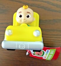 COCOMELON JJ Mini Figure Mini School Bus Free Wheeling Vehicle Toy Truck New