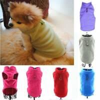 Hot Pet Clothes Small Medium Dog Jacket Pet Dog Fleece Harness Vest Sweater Coat