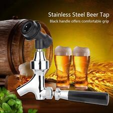 Stainless Steel Beer Tap Faucet Flow Control Ball Lock Liquid Disconnect Kit SG
