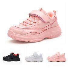 Children's Boys Girls Lightweight Sports Athletic Running Shoes Tennis Sneaker D