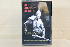 MITCHES MILITARY MODELS 200mm BUST CRIMEAN WAR SERGEANT 5th DRAGOON GUARDS oa