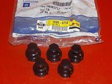 NOS GM 1994-1998 Chevrolet Pontiac wheel hub bolt nut caps FIVE 10203712