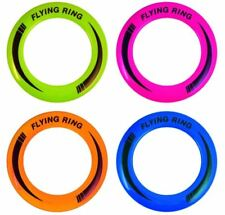 Outdoor Kids Flying Disc Ring Frisbee 4 Assorted Colours 25cm
