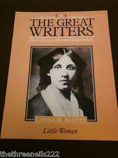 THE GREAT WRITERS #16 LOUISA M. ALCOTT
