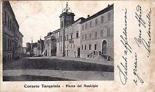 # CORNETO TARQUINIA: PIAZZA DEL MUNICIPIO