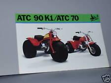 1973 Honda ATC90 K1 / ATC70 Sales Brochure / POSTER Literature
