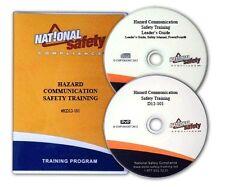 OSHA Hazard Communication Safety Training DVD Kit W/Quiz, Certificate, and More