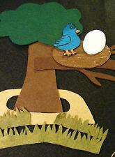 Felt Board/ Flannel Board - GREEN GRASS GROWS ALL AROUND, preschool circle time