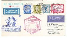 Graf ZEPPELIN-7th SOUTH AMERICA FLIGHT-BERLIN 15/9/33-BERLIN CONNECTING