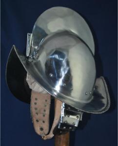 Antique Helmet Medieval Spanish Helmet Morion Steel Armor Helmet