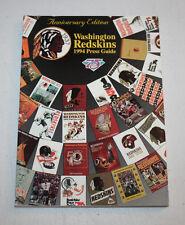 1994   Annual Media Guide   Washington Redskins
