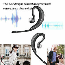 New A2DP Wireless HD Voice Bluetooth Headset Stereo Music Headphone Earpieces
