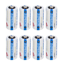 8-Pack Exp 2027 USA TrustFire Flashlight 85177 CR123A 3 Volt Lithium Batteries
