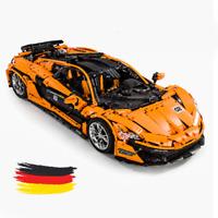 Custom Technic P1 racecar Auto 42056 42083 42110 42099 Blöcke Bausteine MOC