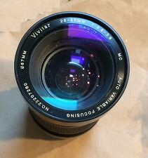 Vivitar F/2.8~3.8 28-85mm Zoom Canon FD Mount A1 AV-1 AE1 for Parts or Repair