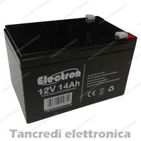 NP14-12 come Ultramax 12v 14Ah Acido Al Piombo Batteria Y14-12, NP12 12ah, 15ah