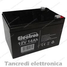12V 14AH Batteria Ciclica Piombo Gel AGM VRLA ricambio 10AH 12AH 15AH USV