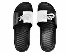 low priced 3f2a3 bbf1e NIKE BENASSI JDI diapositives Taille 13 EUR 48.5 (343880 015) Noir Blanc