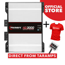 Taramps HD 3000 1 Ohm Amplifier 3000 Watts RMS 1 Channel + T-Shirt Taramps