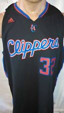 Adidas Swingman NBA Jersey Clippers Blake Griffin Black Fade to Black sz 2X