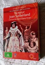 THE BEST OF JOAN SUTHERLAND: ENCORE AND ACT II DVD, 2-DISC SET, R-4, LIKE NEW