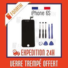 ECRAN LCD POUR IPHONE 6S NOIR + VITRE TACTILE SUR CHASSIS + KIT OUTILS OFFERT!