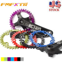 Crankset 30-52T 104BCD Crank Arm 170 MTB Bike Narrow Wide Chainring Sprocket CNC