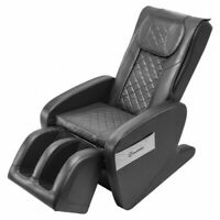 Zero Gravity Massage Chair Full Body Shiatsu Real Relax S1 Black 3yr Warranty!