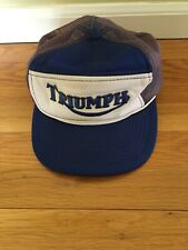 Triumph Motorcycle Mens Hat YA Made In Korea