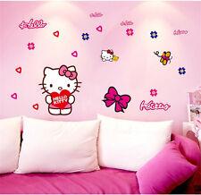 HELLO KITTY Wall Sticker Decal Kid's Girl Bedroom Home Decor Mural Vinyl Art