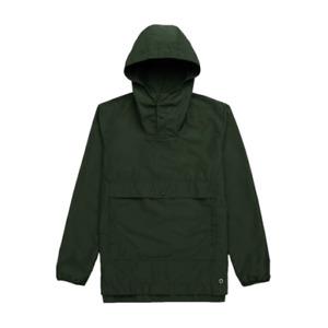 Herschel Voyage Anorak Jacket Men's Olive Green Activewear Hooded Outwear Top