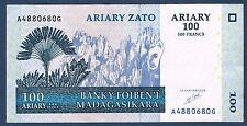 MADAGASCAR - 100 ARIARY/500 FRANCS Pick n° 86 de 2004 en SUP A4880680G
