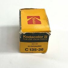 Vtg Kodak Kodacolor II Color Film Sealed Exp 01/1985 C135-36 ASA 100